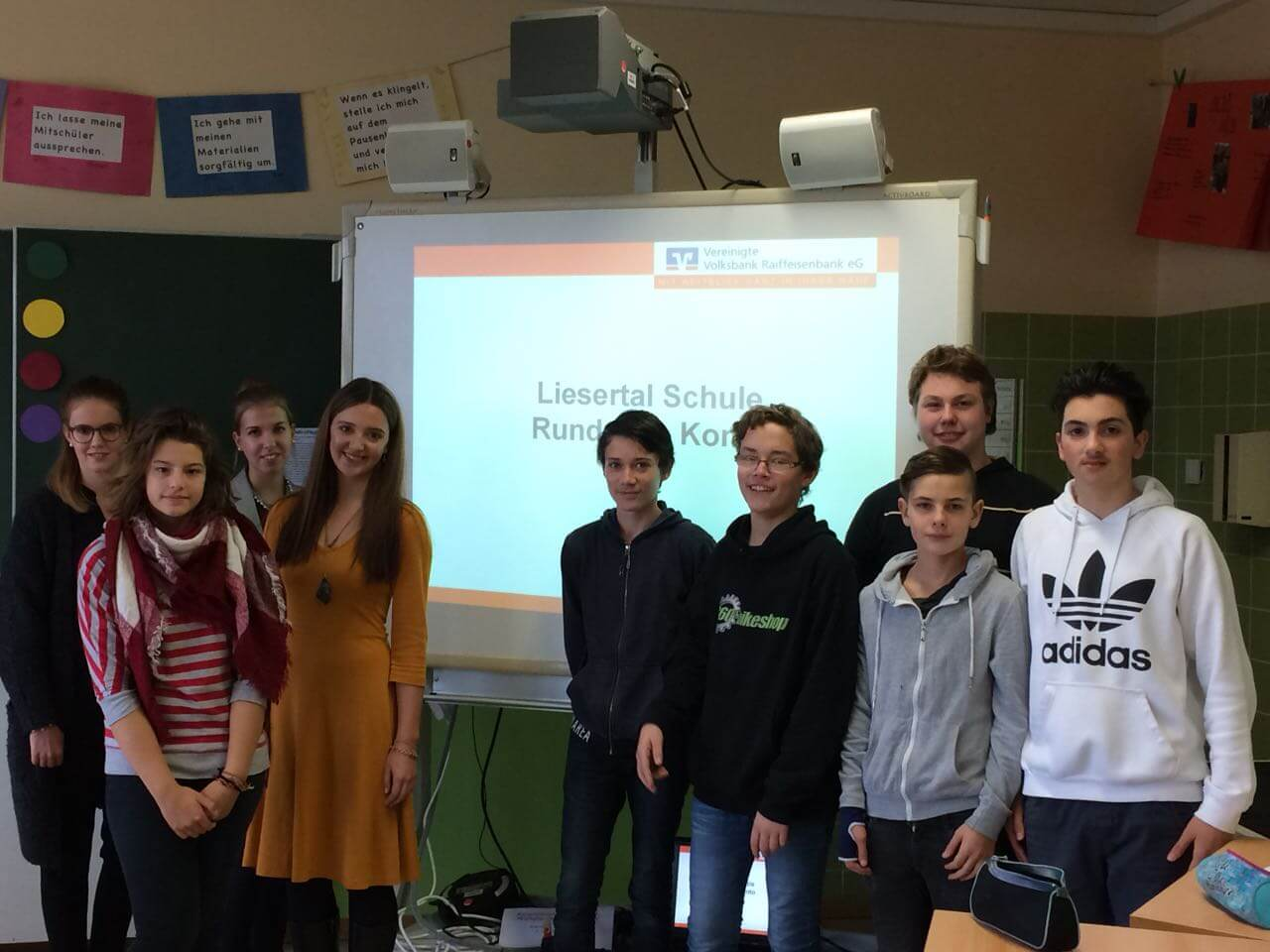 Ein Besuch in der Liesertal Schule