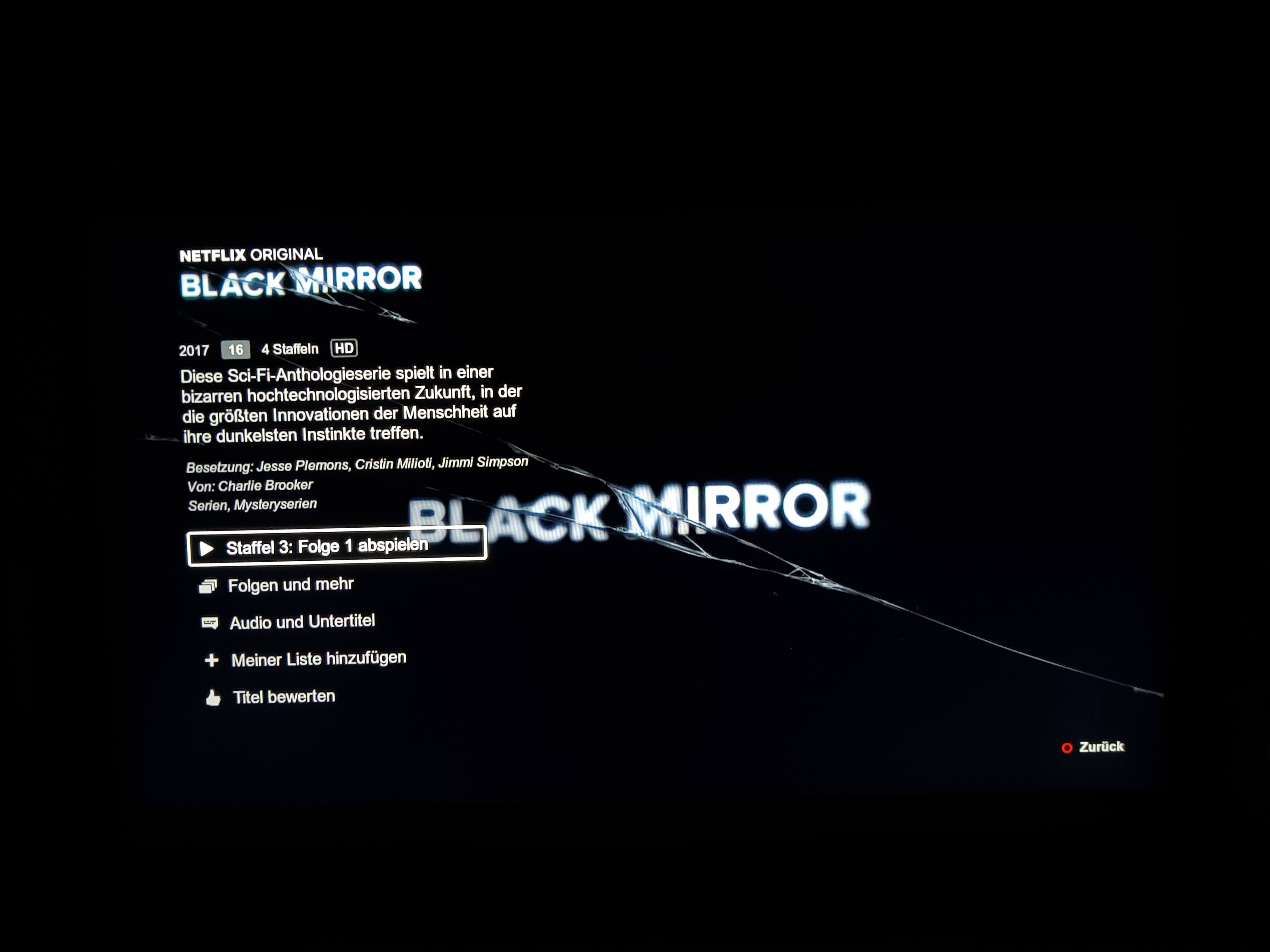 "Serientipp ""Black Mirror"""