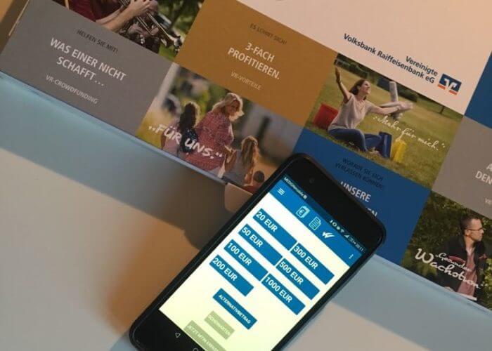 VR-mobileCash: Geld abheben ohne Karte