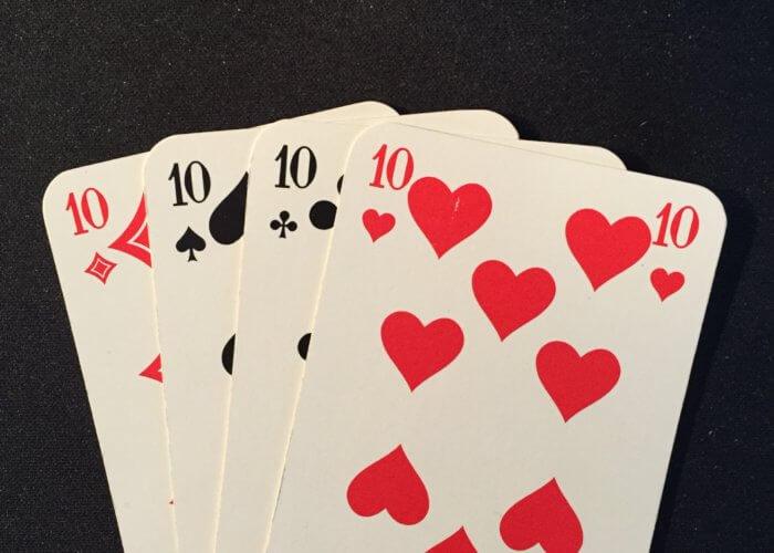 Karten spielen!