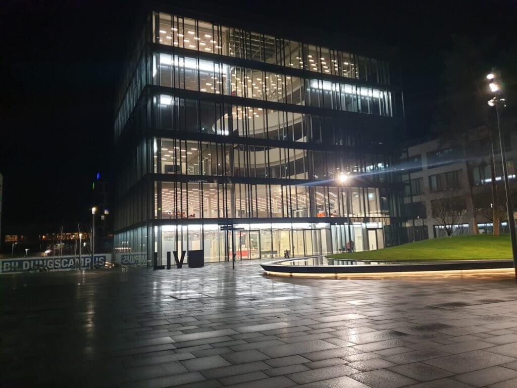 LIV, die neue Bibliothek auf dem Hochschulcampus in Heilbronn