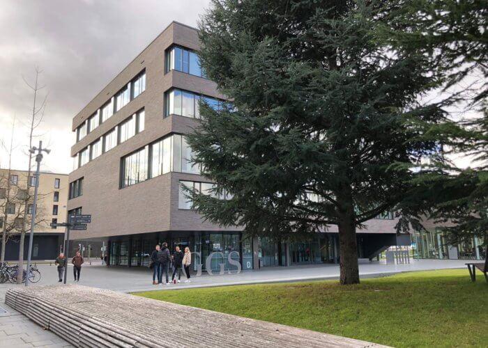 Moderner geht es kaum – der neue Campus